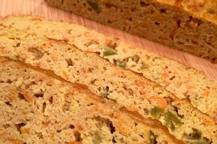 Chléb s papričkami Jalapeňo
